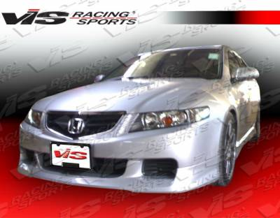 TSX - Front Bumper - VIS Racing - Acura TSX VIS Racing Type R-2 Front Lip - 04ACTSX4DTYR2-011