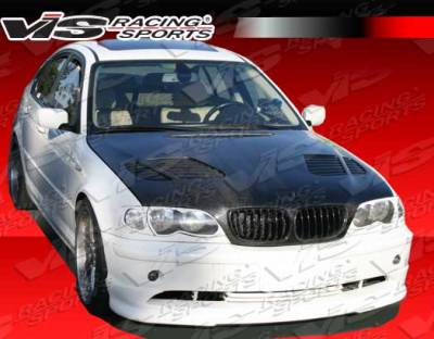 3 Series 4Dr - Front Bumper - VIS Racing - BMW 3 Series 4DR VIS Racing Euro Tech Front Lip - 04BME464DET-011