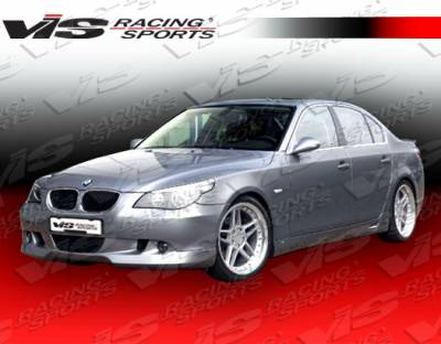 5 Series - Front Bumper - VIS Racing - BMW 5 Series VIS Racing A Tech Front Lip - 04BME604DATH-011