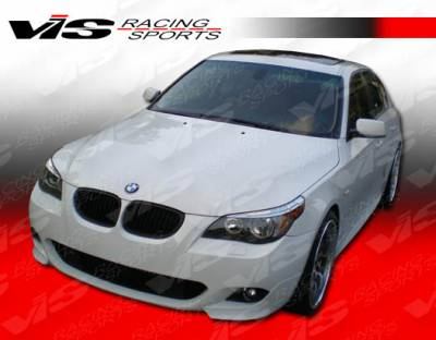 5 Series - Front Bumper - VIS Racing - BMW 5 Series VIS Racing M Tech Front Bumper - 04BME604DMTH-001