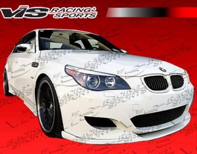 5 Series - Front Bumper - VIS Racing - BMW 5 Series VIS Racing Euro Tech Front Lip - 04BME60M54DET-011