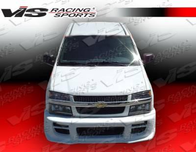 Colorado - Front Bumper - VIS Racing - Chevrolet Colorado VIS Racing Outcast Front Bumper - 04CHCOL2DOC-001