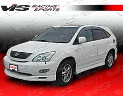 RX330 - Front Bumper - VIS Racing - Lexus RX330 VIS Racing Techno-R Front Lip - 04LXRX34DTNR-011