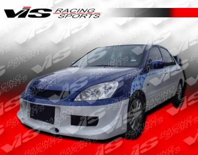 Lancer - Front Bumper - VIS Racing - Mitsubishi Lancer VIS Racing G Speed Front Bumper - 04MTLAN4DGSP-001