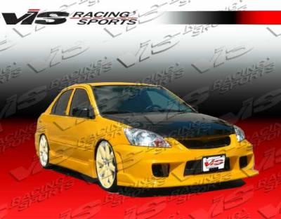 Lancer - Front Bumper - VIS Racing - Mitsubishi Lancer VIS Racing N1 Front Bumper - 04MTLAN4DN1-001