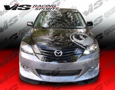 3 4Dr HB - Front Bumper - VIS Racing - Mazda 3 4DR HB VIS Racing Viper Front Bumper - 04MZ3HBVR-001