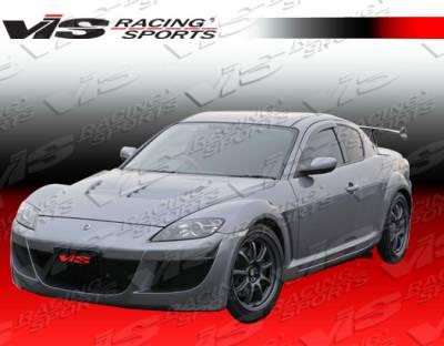 RX8 - Front Bumper - VIS Racing - Mazda RX-8 VIS Racing A Spec-2 Front Bumper - 04MZRX82DASC2-001