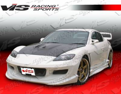 RX8 - Front Bumper - VIS Racing - Mazda RX-8 VIS Racing J Speed Front Bumper - 04MZRX82DJSP-001