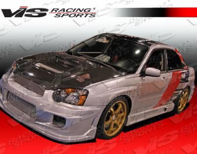 WRX - Front Bumper - VIS Racing - Subaru WRX VIS Racing Wings Front Bumper - 04SBWRX4DWIN-001