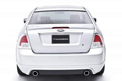 Spoilers - Custom Wing - 3dCarbon - Ford Fusion 3dCarbon Deck Lid Spoiler with LED Light - 691208L