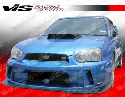 WRX - Front Bumper - VIS Racing - Subaru WRX VIS Racing Z Sport Front Bumper - 04SBWRX4DZST-001