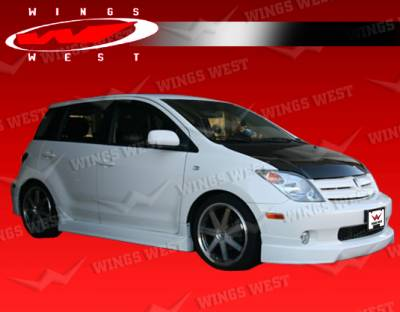 XA - Front Bumper - VIS Racing - Scion xA VIS Racing JPC Front Lip - Polyurethane - 04SNXA4DJPC-011P