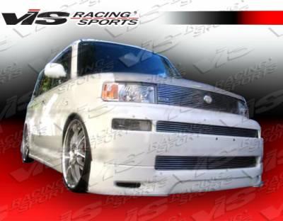 XB - Front Bumper - VIS Racing - Scion xB VIS Racing Formula-1 Front Lip - 04SNXB4DF1-011