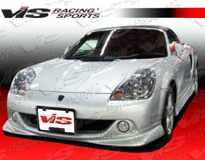 MRS - Front Bumper - VIS Racing - Toyota MRS VIS Racing Techno R Front Lip - 04TYMRS2DTNR-011