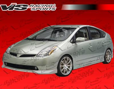 Prius - Front Bumper - VIS Racing - Toyota Prius VIS Racing JPC Front Lip - 04TYPRI4DJPC-011P