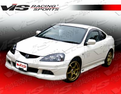 RSX - Front Bumper - VIS Racing - Acura RSX VIS Racing Techno R-2 Front Lip - 05ACRSX2DTNR2-011