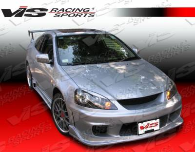 RSX - Front Bumper - VIS Racing - Acura RSX VIS Racing Wings Front Bumper - 05ACRSX2DWIN-001