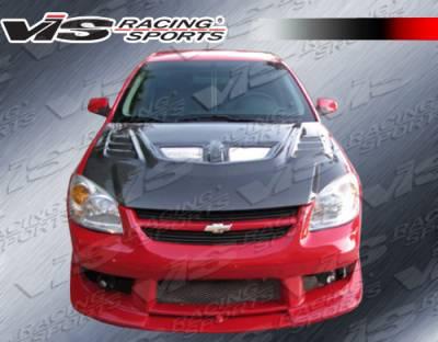 Cobalt 2Dr - Front Bumper - VIS Racing - Chevrolet Cobalt 2DR VIS Racing Striker 2 Front Bumper - 05CHCOB2DSTR2-001