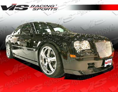 300 - Front Bumper - VIS Racing - Chrysler 300 VIS Racing VIP Front Lip - 05CY3004DVIP-011