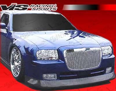 300 - Front Bumper - VIS Racing - Chrysler 300 VIS Racing VIP-4 Front Bumper - 05CY3004DVIP4-001