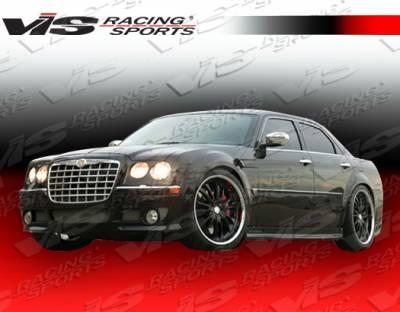 300 - Front Bumper - VIS Racing - Chrysler 300 VIS Racing Ballistix Front Bumper - 05CY300C4DBX-001