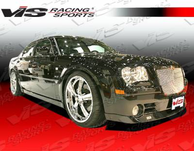 300 - Front Bumper - VIS Racing - Chrysler 300 VIS Racing VIP Front Lip - 05CY300C4DVIP-011