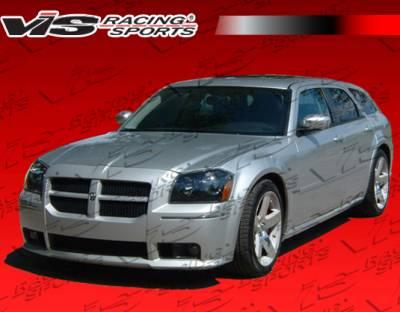 Magnum - Front Bumper - VIS Racing. - Dodge Magnum VIS Racing SRT Front Bumper - 05DGMAG4DSRT-001