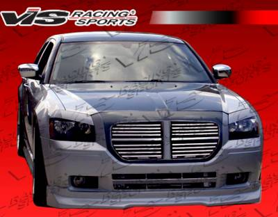 Magnum - Front Bumper - VIS Racing - Dodge Magnum VIS Racing VIP-2 Front Lip - 05DGMAG4DVIP2-011