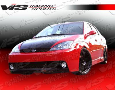 Focus 4Dr - Front Bumper - VIS Racing - Ford Focus VIS Racing DTM Front Bumper - 05FDFOC2DDTM-001