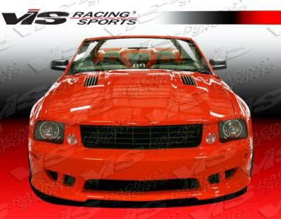 Mustang - Front Bumper - VIS Racing - Ford Mustang VIS Racing Stalker Front Bumper - 05FDMUS2DSTK-001