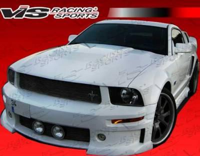 Mustang - Front Bumper - VIS Racing - Ford Mustang VIS Racing Stalker-2 Front Bumper - 05FDMUS2DSTK2-001