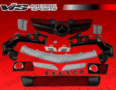 SLK - Front Bumper - VIS Racing - Mercedes-Benz SLK VIS Racing Euro Tech 2K Front Bumper - 05MER1712DET2K-001P