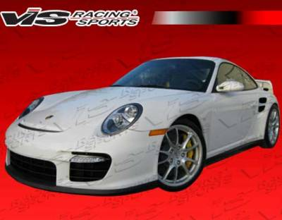 911 - Front Bumper - VIS Racing - Porsche 911 VIS Racing D2 Front Bumper & Lip & Grille - 05PS9972DD2-001