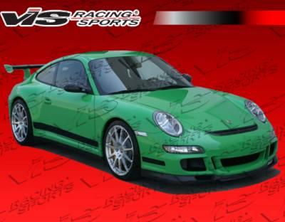 911 - Front Bumper - VIS Racing - Porsche 911 VIS Racing D3 Front Lip - 05PS9972DD3-011