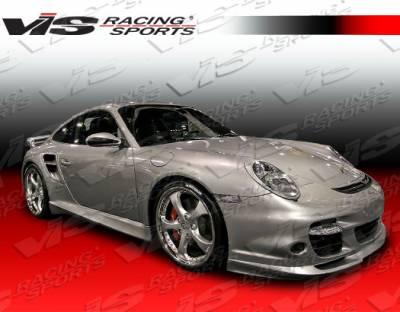911 - Front Bumper - VIS Racing - Porsche 911 VIS Racing Turbo Front Bumper - 05PS9972DTUR-001