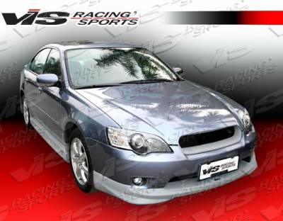 Legacy - Front Bumper - VIS Racing - Subaru Legacy VIS Racing Fuzion Front Lip - 05SBLEG4DFUZ-011
