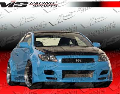 TC - Front Bumper - VIS Racing. - Scion tC VIS Racing GT Widebody Front Bumper - 05SNTC2DGTWB-001