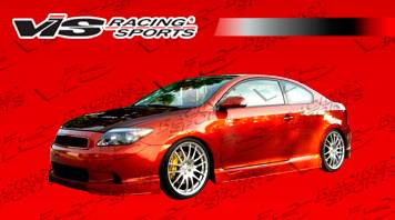 TC - Front Bumper - VIS Racing - Scion tC VIS Racing J Speed Front Lip - Polyurethane - 05SNTC2DJSP-011P