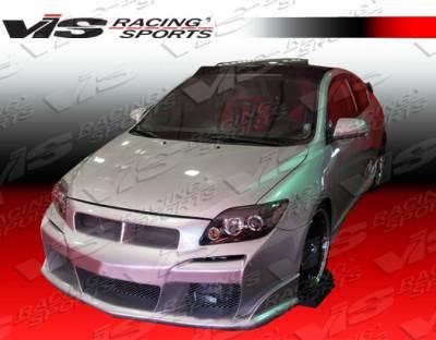 TC - Front Bumper - VIS Racing - Scion tC VIS Racing Laser Front Bumper - 05SNTC2DLS-001