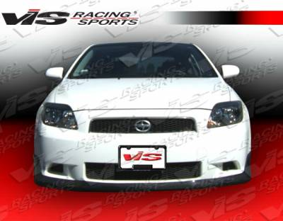 TC - Front Bumper - VIS Racing. - Scion tC VIS Racing Techno R Front Lip - 05SNTC2DTNR-011