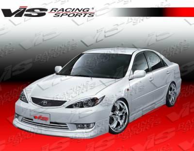 Camry - Front Bumper - VIS Racing - Toyota Camry VIS Racing JPC Front Lip - Polyurethane - 05TYCAM4DJPC-011P