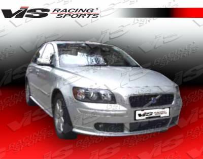 S40 - Front Bumper - VIS Racing. - Volvo S40 VIS Racing Euro Tech Front Lip - 05VVS404DET-011