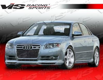 A4 - Front Bumper - VIS Racing - Audi A4 VIS Racing A Tech Front Lip - 06AUA44DATH-011