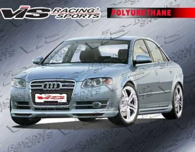 A4 - Front Bumper - VIS Racing. - Audi A4 VIS Racing A Tech Front Lip - 06AUA44DATH-011P