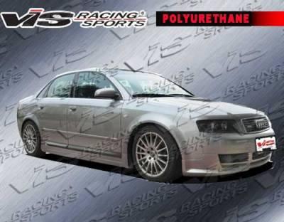 A4 - Front Bumper - VIS Racing. - Audi A4 VIS Racing JSP Front Lip - 06AUA44DJSP-011P