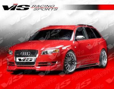 A4 - Front Bumper - VIS Racing - Audi A4 VIS Racing R Tech Front Lip - 06AUA44DRTH-011