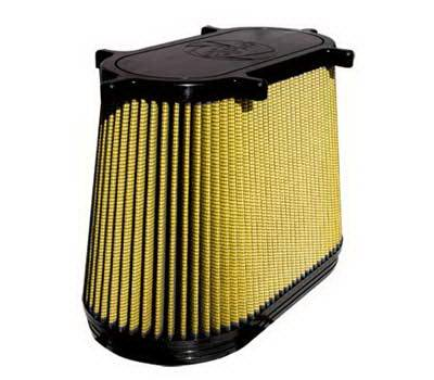 Air Intakes - Oem Air Intakes - aFe - Ford F350 aFe MagnumFlow Pro-Guard 7 OE Replacement Air Filter - 71-10107