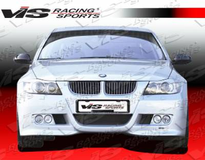 3 Series 4Dr - Front Bumper - VIS Racing - BMW 3 Series VIS Racing Euro Tech Front Bumper - 06BME904DET-001