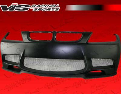 3 Series 4Dr - Front Bumper - VIS Racing - BMW 3 Series VIS Racing E92 M3 Front Bumper - 06BME904DM3-001