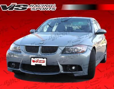 3 Series 4Dr - Front Bumper - VIS Racing - BMW 3 Series 4DR VIS Racing M3 Style Front Bumper - Polyurethane - 06BME904DM3-001P